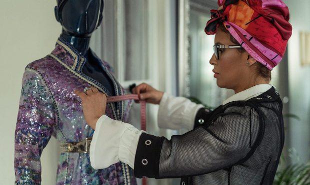 Le caftan marocain de luxe revisité par Linda Lousse