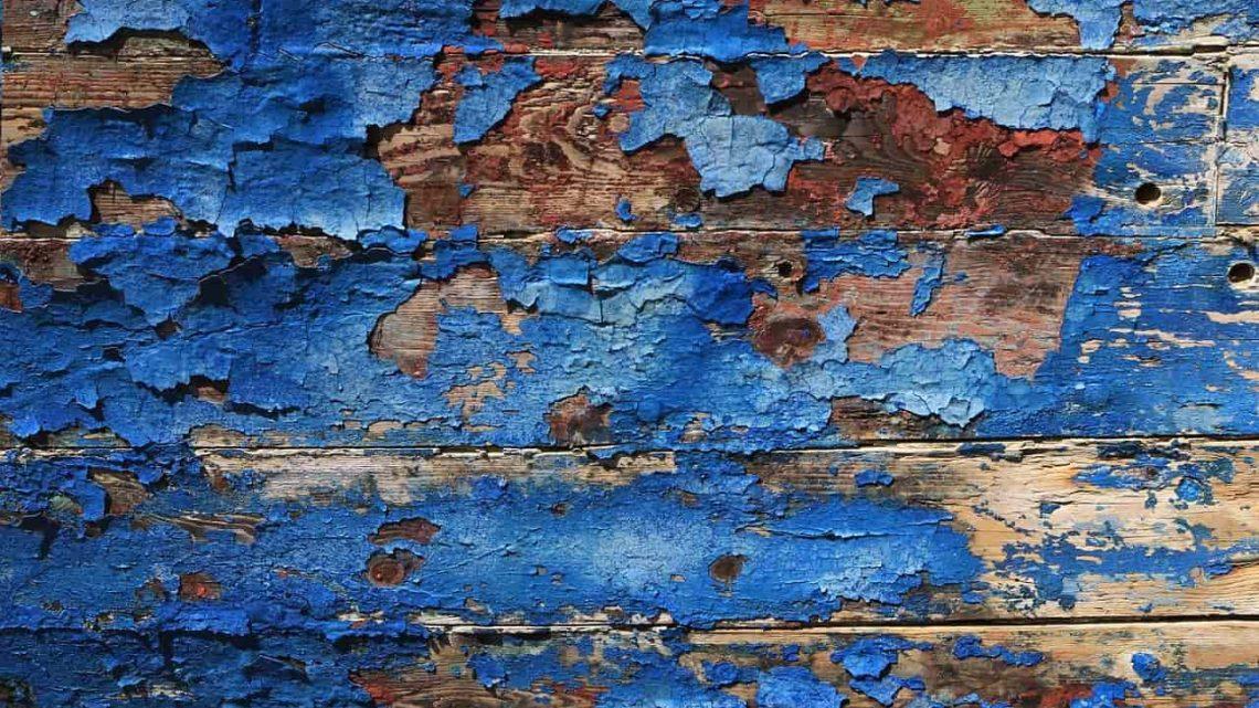Zoom sur la peinture bois
