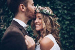 accessoires pour cheveux courts pour le mariage