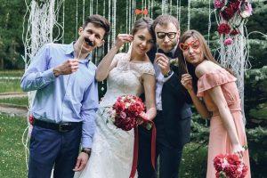 installation photobooth dans un mariage